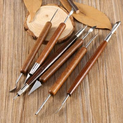 New Carving Tools Ceramic Modeling Craft Clay Sculpting Set Assorted Polymer