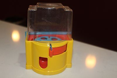 TOY BUBBLE GUM MACHINE PIGGY BANK Vintage 1960's
