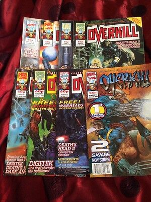 marvel comics overkill