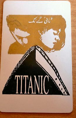 TITANIC PHONECARD from PAKISTAN TELECARD 30 UNITS  Free Shipping