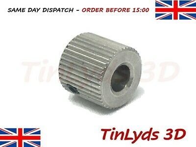 2 x mk8 extruder Drive Gear Pulley 5mm - CTC.PRUSA , WANHAO 3D Printer part