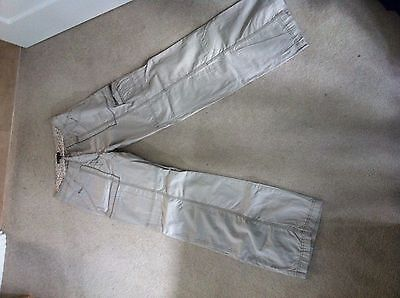 Brand new beige combat style trousers Warehouse size 8