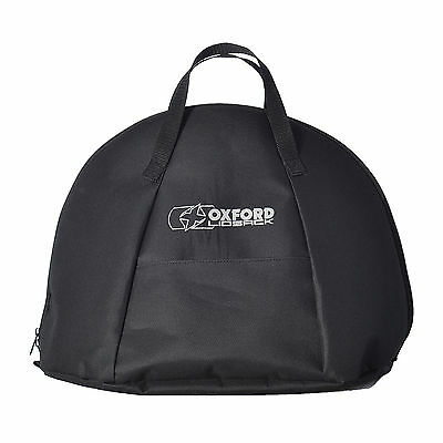 Oxford Motorbike Water Resistant Lid Sack Helmet Bag W/ Carry Handle