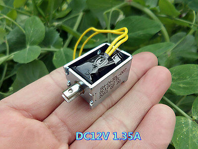 Electromagnet DC12V 1.35A Big suction Inhalation type Frame type electromagnet
