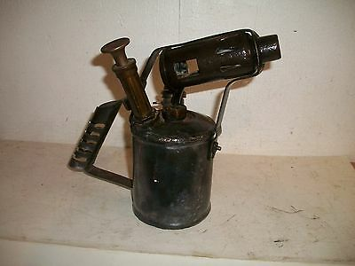 RARE WW2 British Safety Stove Co Blowlamp Dated 1941/2 Blowtorch Blow Torch