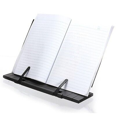 INTBUYING Portable Steel Bookstands Book Stand Holder for Reading Books/iPad/...