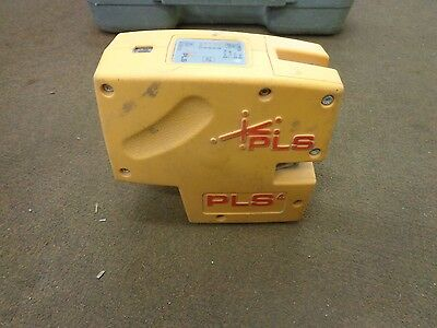 Pacific Laser Systems PLS4 Cross Line and Plumb Laser Level Tool ONLY inc case