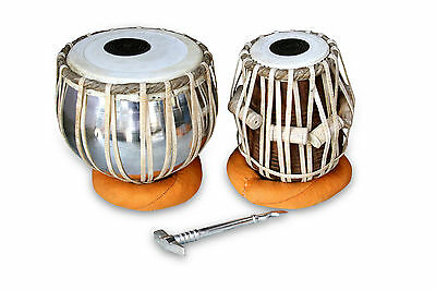 Handmade Professional Tabla Drums Set Iron Bayan Shesham Wood Dayan  Aht006