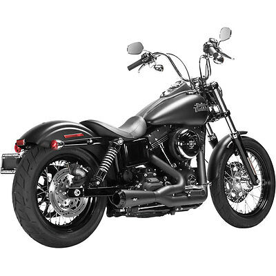Magnaflow Black Riot 2-into-1 Exhaust for 2008-16 Harley Dyna FXDWG FXD