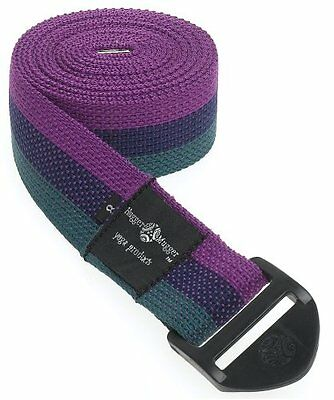 Hugger Mugger Cinch Yoga Strap 8-Foot (Multi)