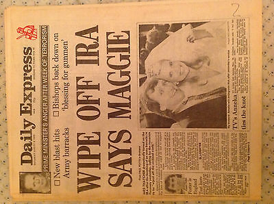 Daily Express - Saturday 6th August 1988 - Combine P&P to save