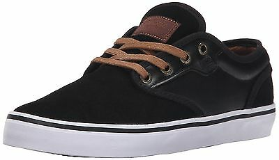 Globe Men's Motley Skateboarding Shoe, Black/Toffee, 10 M US