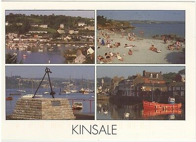 Postcard - Kinsale - Cork Ireland  - 4 Views Postally Used