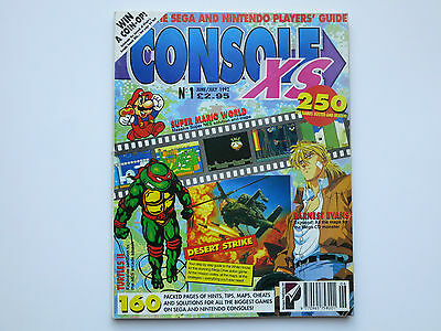 Console XS Magazine Issue 1 One June July 1992 Paragon Publishing Video Games UK