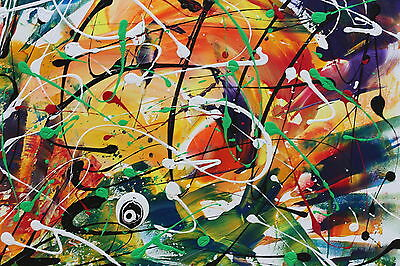 FRANZ J. BLANK - 100x70 cm - ABSTRACT -  ASTRATTO - PAINTING - QUADRO - DIPINTO