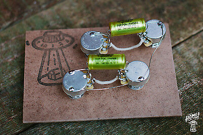 Home of Tone - Hand Wired Pre-Wired Guitar Harness for Les Paul LP Standard