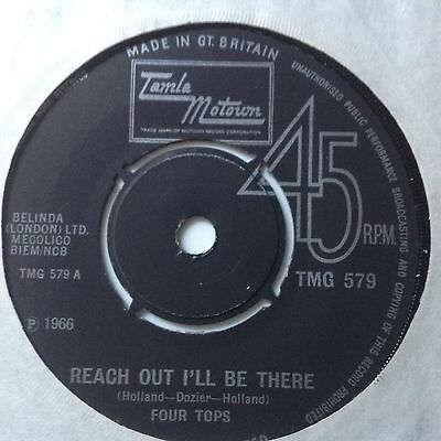 Four Tops-Reach Out / Until You Love Someone-Uk Tamla Motown Tmg 579. Vg+