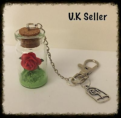 Beauty And The Beast Inspired Keyring