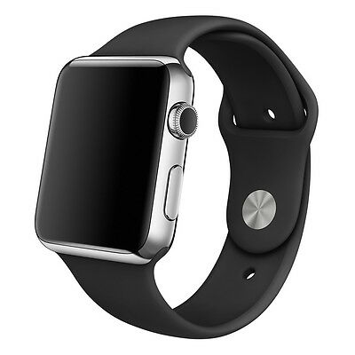 Sport Smart Watch Strap Band For Apple Watch 42mm Sports Silicone Bracelet Gift