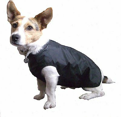 Lightweight Step in Suit Dog Coat. Waterproof full body coverage. For wet walks!