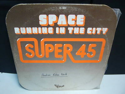 """Space """"running In The City"""". Maxi Vinyl. Space Music."""