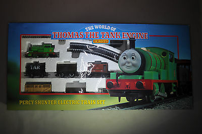Hornby Thomas the tent Engine percy shunter electric train set