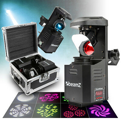 Beamz 150.543 Pair PocketScan Gobo Scanner Lights with Case