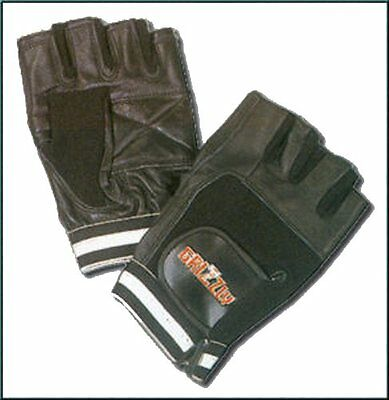 Grizzly Fitness 8738-04-X-Large Black Grizzly Paw Training Gloves
