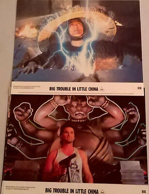 Big Trouble in Little China UK lobby card set