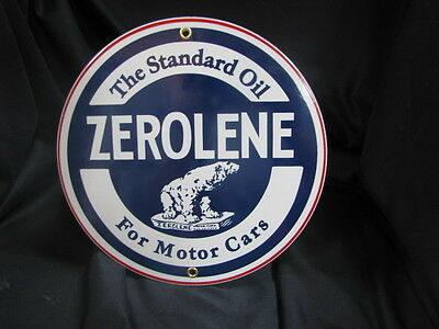 Zerolene Porcelain Sign
