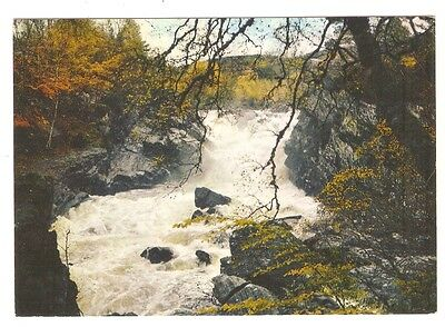 UK Scotland Ross-Shire Falls of Rogie. Spectacular Waterfall and Salmon Leap