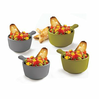 Gourmet by Starfrit Set of 4 Ceramic Serving Dishes