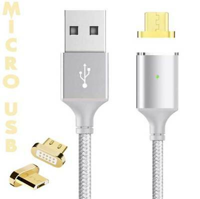Cable USB Chargeur Magnetique  pour Samsung,Android, SONY, Blackberry ou Type C