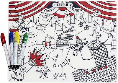 Modern Twist Mark-Mat Circus and 4 Markers