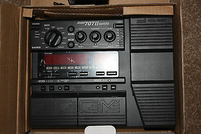 Zoom 707II Guitar Effects Pedal