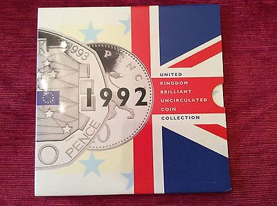 1992 UK. B/UNC Coin Collection