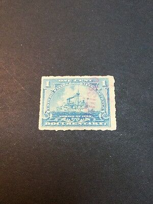 United States Documentary Stamp Fiscal Revenue Used (s929)