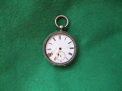 old silver pocket watch