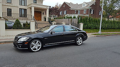 2009 Mercedes-Benz S-Class S63 2009 Mercedes Benz S63 AMG 2 Owners Clean CarFax All Bells And Whistles Runs New