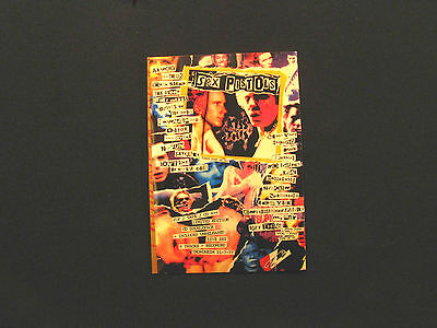 Sex Pistols New Official Postcard Uk Import