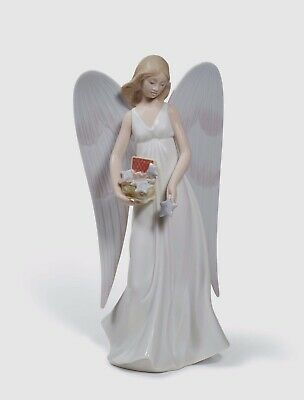 Lladro  Porcelain CHRISTMAS 01008534  ANGELIC STARS (TREE TOPPER)  in original B