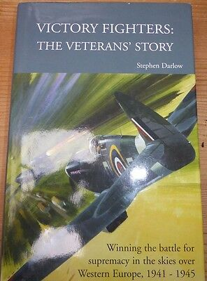 Battle of Britain book ' VICTORY FIGHTERS' signed