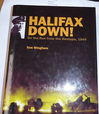Battle of Britain book 'HALIFAX DOWN!' multisigned