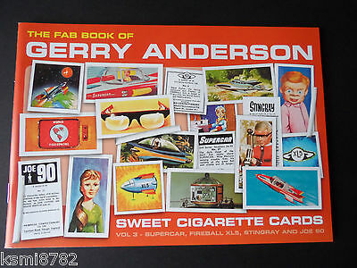 Gerry Anderson Sweet Cigarette Cards Vol 3