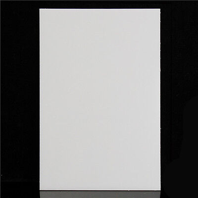 Nylon Extruded Sheet 300mm x 200mm Plastic Engineering Material Plate White 3MM