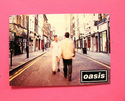 Oasis New Official Postcard Uk Import
