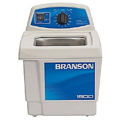 Branson M1800H Ultrasonic Cleaner w/ Mechanical Timer & Heater CPX-952-117R 0.5G
