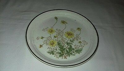 "Arklow Pottery Ireland Honey Stone Jubilee No.8155 7 1/2"" Plate"