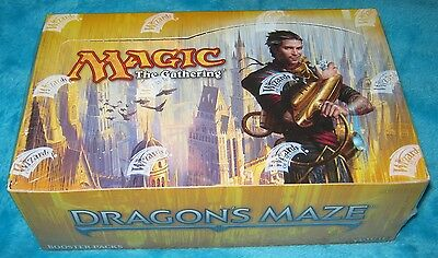 DRAGON'S MAZE Booster Box - 36 Magic The Gathering Boosters NEW & SEALED - MTG