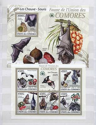 (936806) Pineapple, Coconut, Bat, Comoros